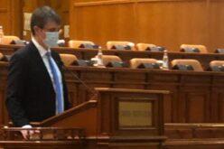 Faragó Péter letette az esküt a parlamentben