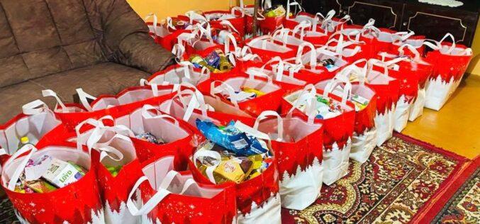 Adventi ajándékozás Pécskán
