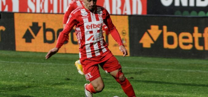 Szánalmas pálya, játék: UTA-Hermannstadt 1-1