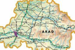 """Arad megye """"bevörösödött"""", Kisiratos a negatív statisztika élén"""