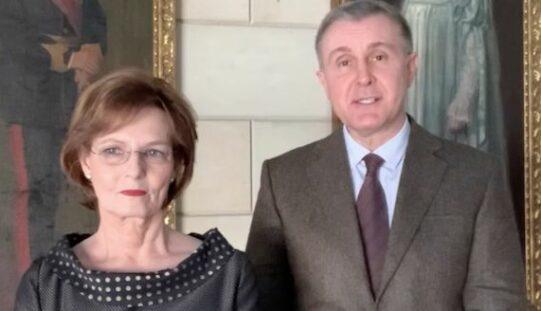 A királyi pár Aradon