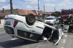 Fejre állt egy autó Pécskán